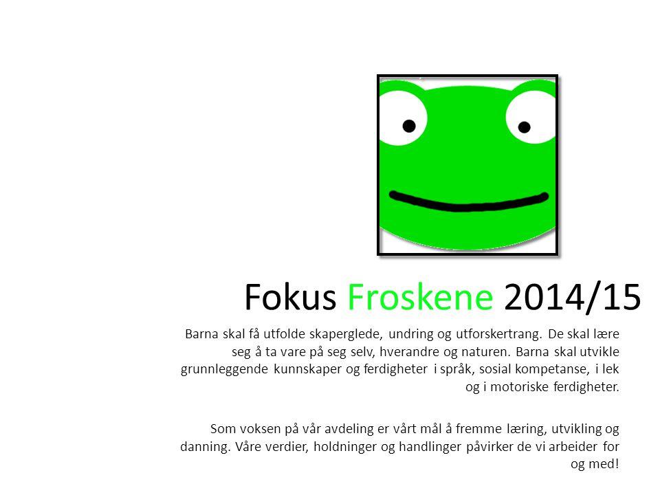 Fokus Froskene 2014/15