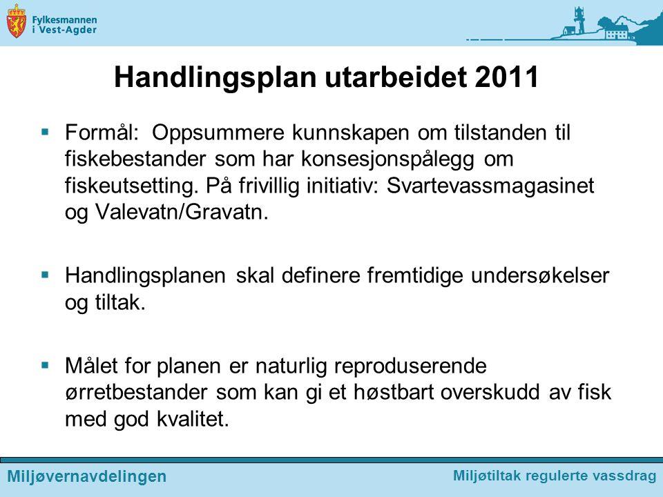 Handlingsplan utarbeidet 2011