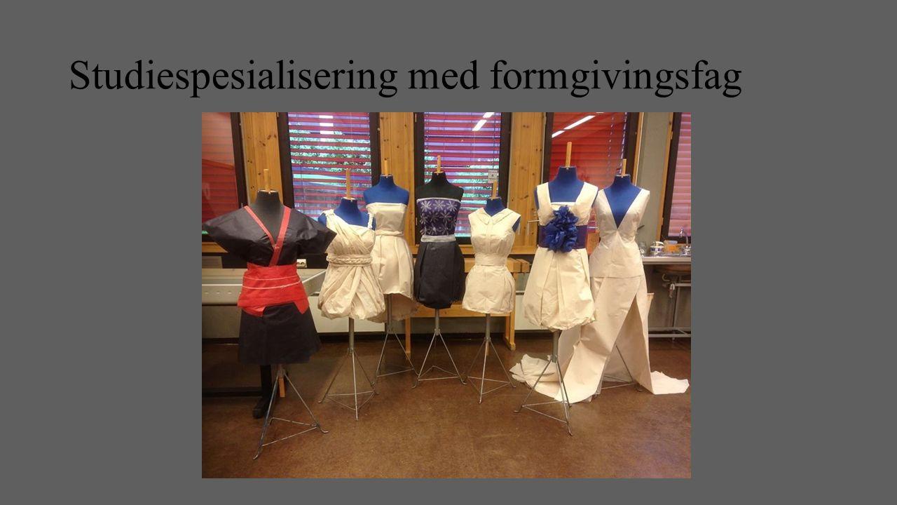 Studiespesialisering med formgivingsfag