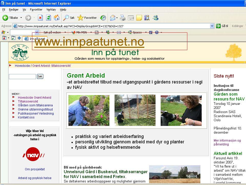 NAV www.innpaatunet.no