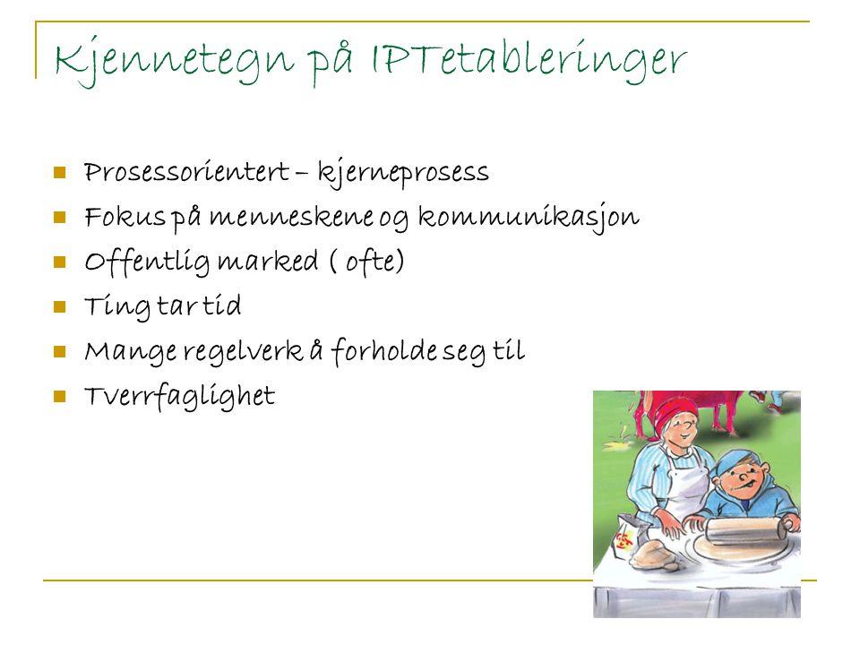 Kjennetegn på IPTetableringer