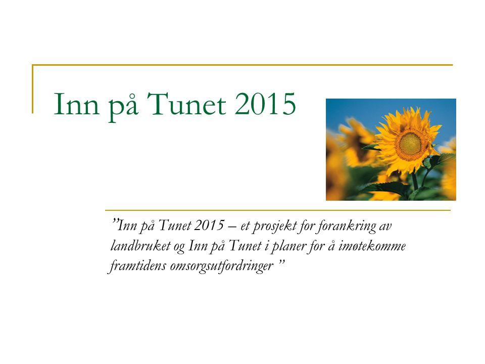 Inn på Tunet 2015