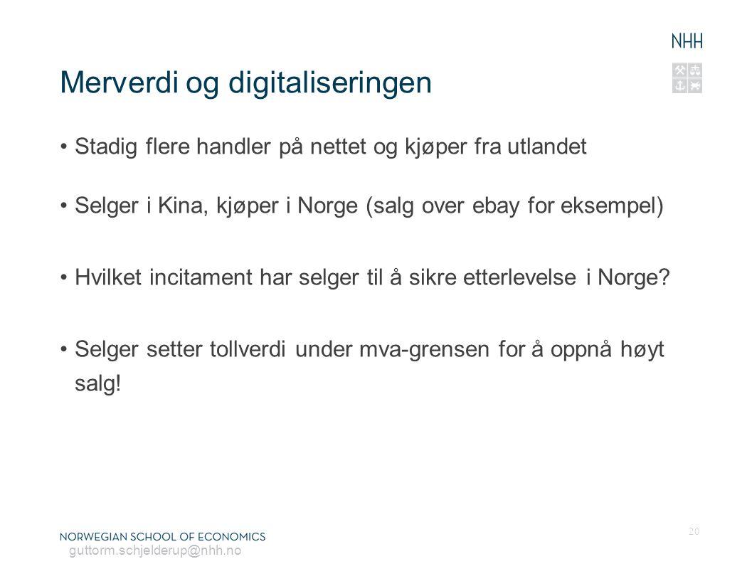 Merverdi og digitaliseringen