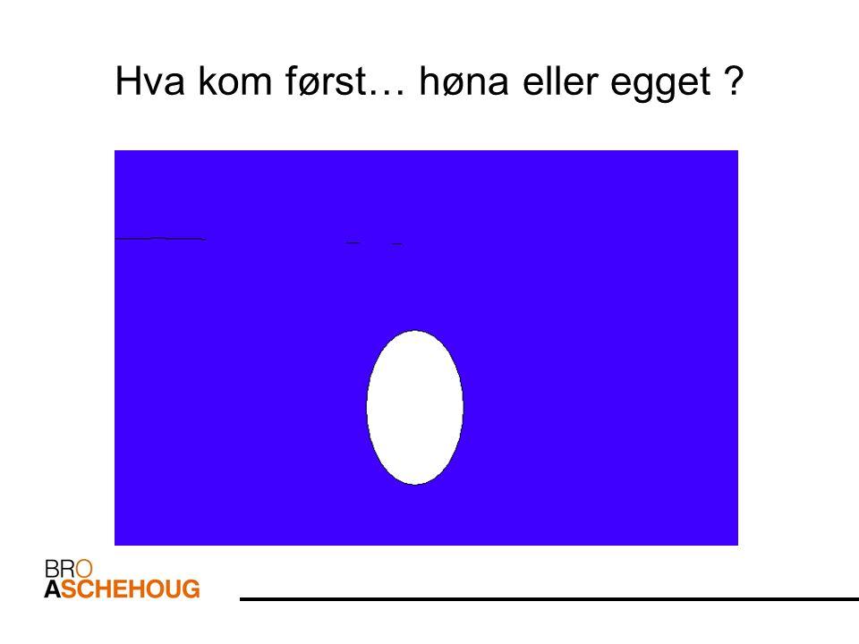 Hva kom først… høna eller egget