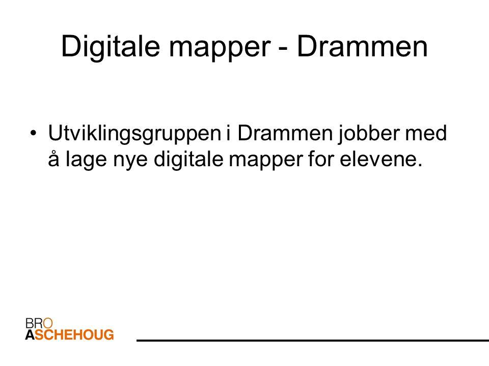 Digitale mapper - Drammen