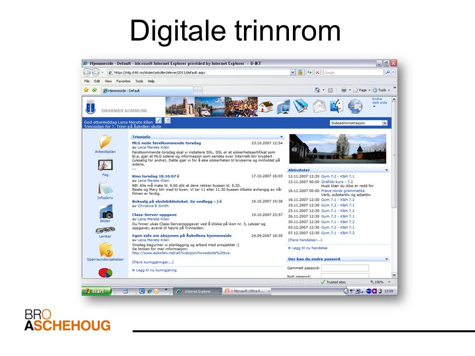 Digitale trinnrom