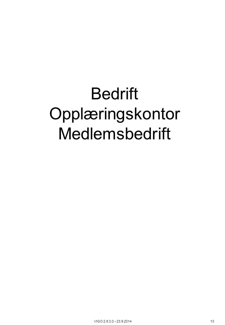 Bedrift Opplæringskontor Medlemsbedrift