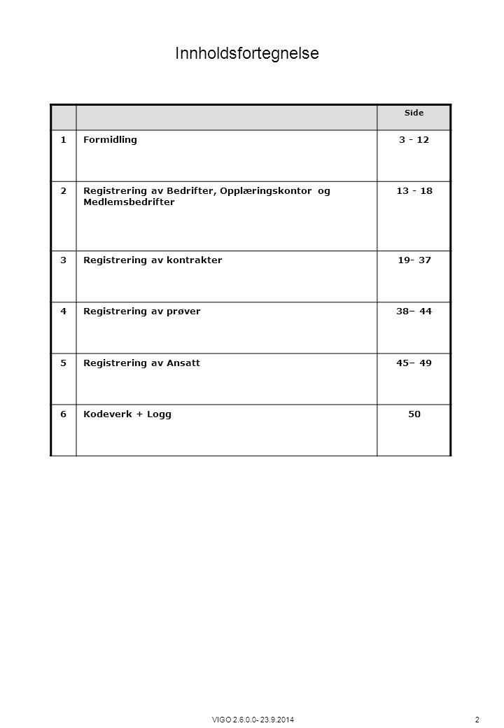 Innholdsfortegnelse 1 Formidling 3 - 12 2