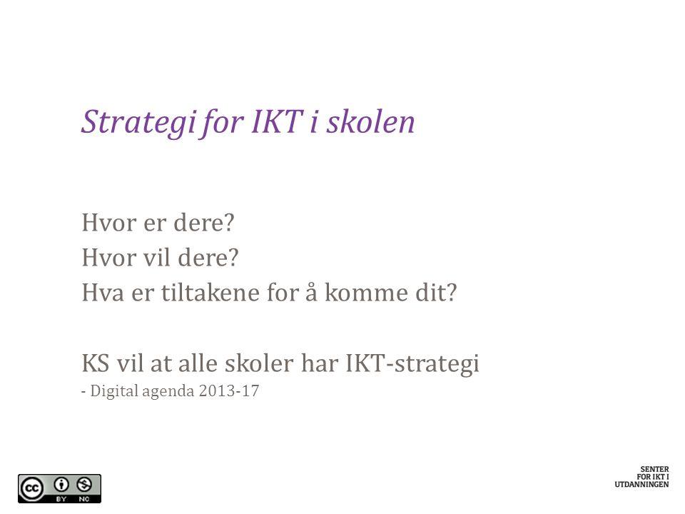 Strategi for IKT i skolen