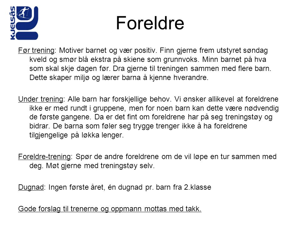 Foreldre