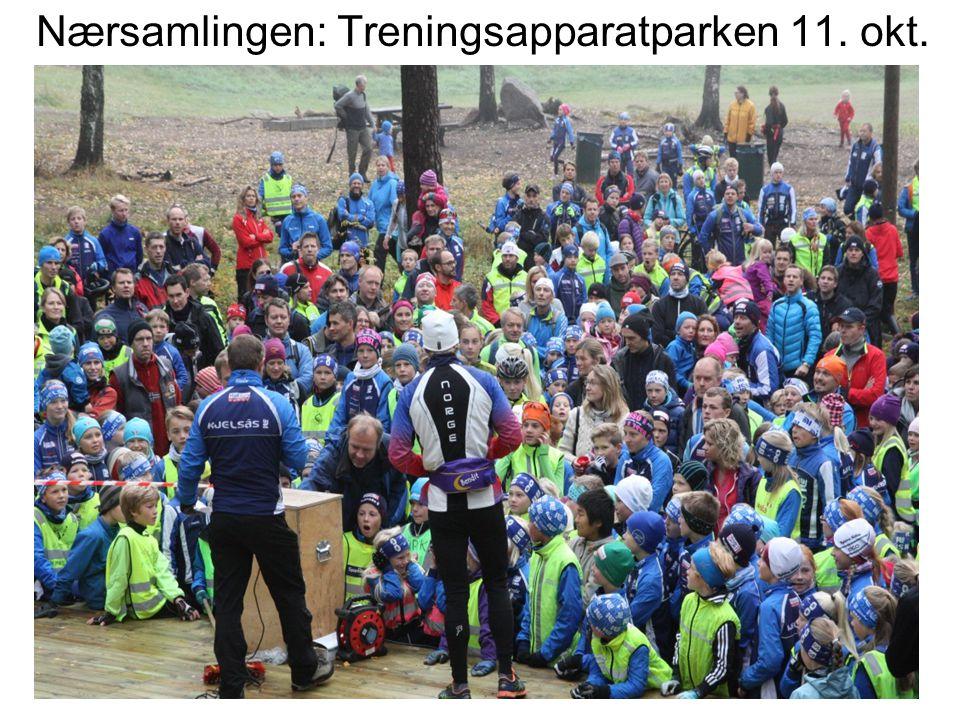 Nærsamlingen: Treningsapparatparken 11. okt.