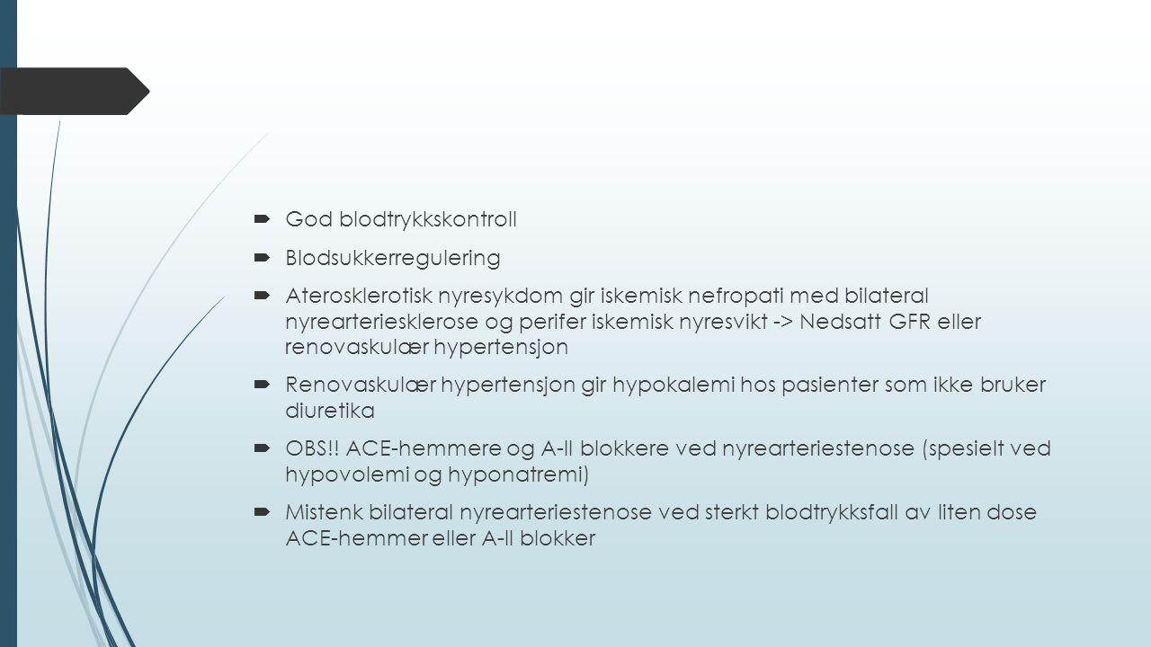 God blodtrykkskontroll