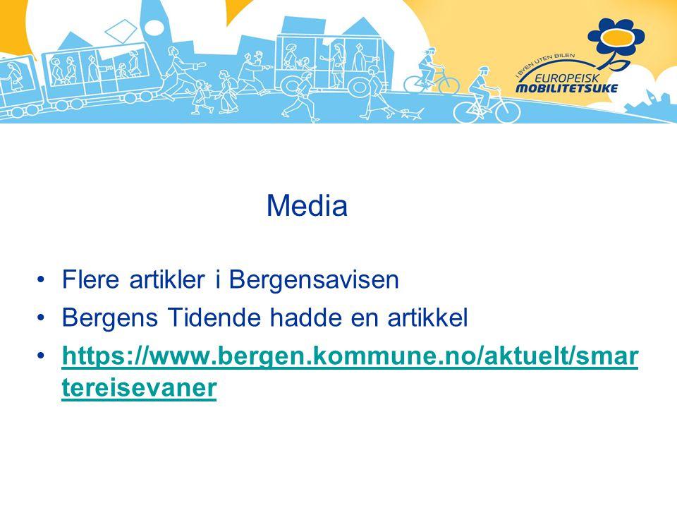 Media Flere artikler i Bergensavisen Bergens Tidende hadde en artikkel