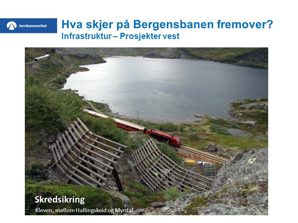 Hva skjer på Bergensbanen fremover