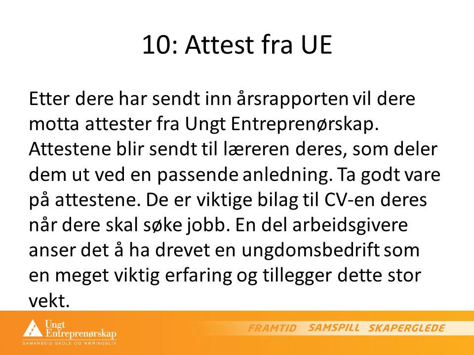 10: Attest fra UE