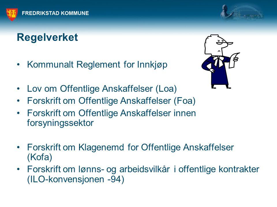 Regelverket Kommunalt Reglement for Innkjøp