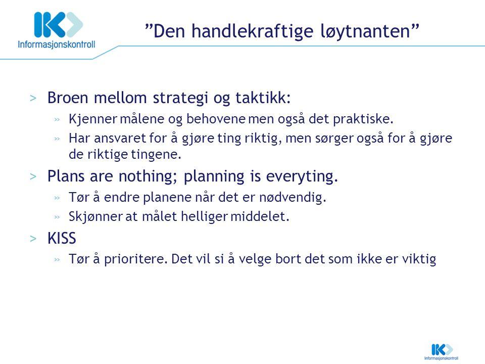 Felles lærdom Harald Os IK - utfordringer IK – når det går bra