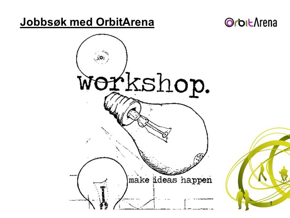 Jobbsøk med OrbitArena