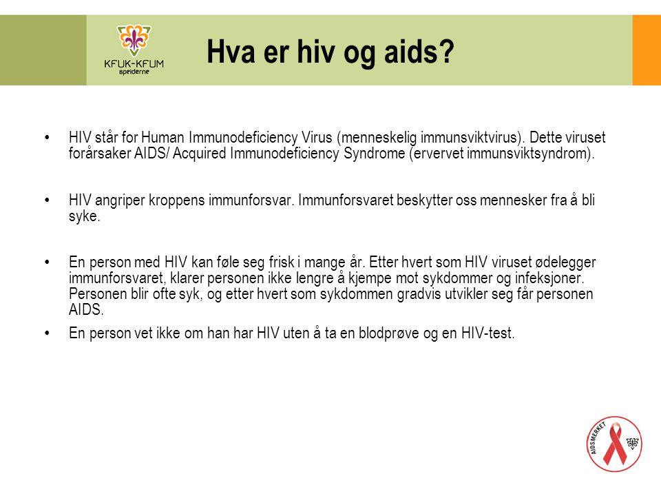 Hva er hiv og aids