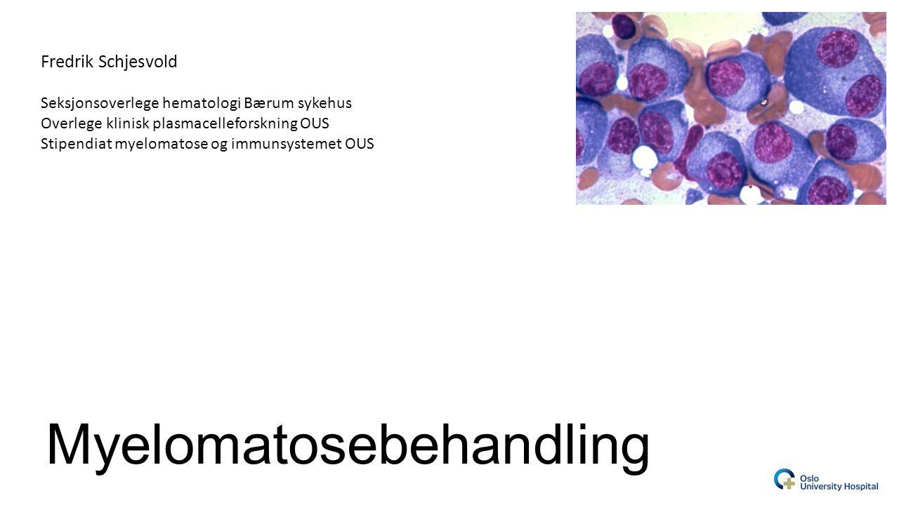 Myelomatosebehandling