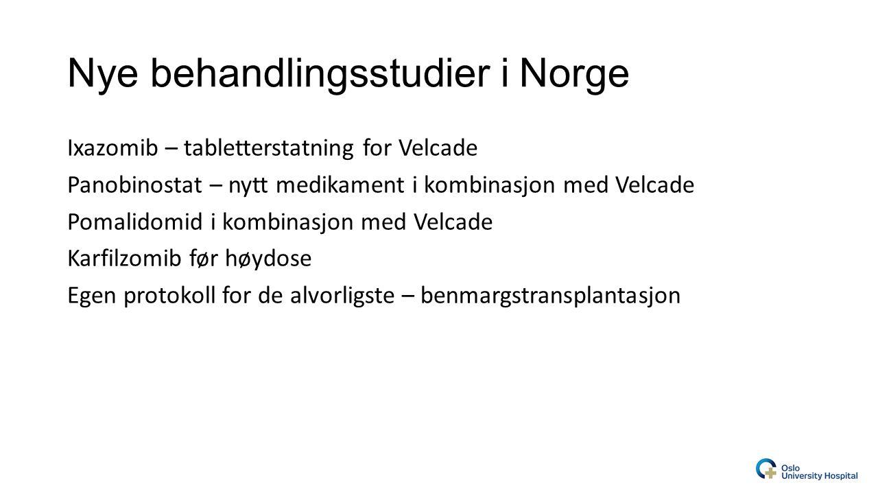 Nye behandlingsstudier i Norge