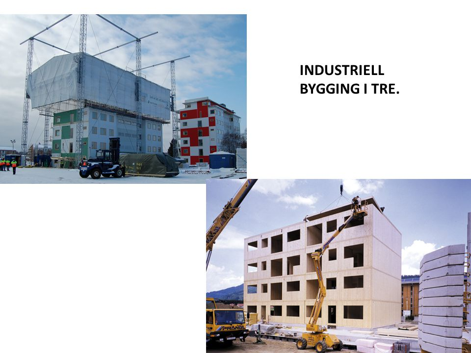 INDUSTRIELL BYGGING I TRE.