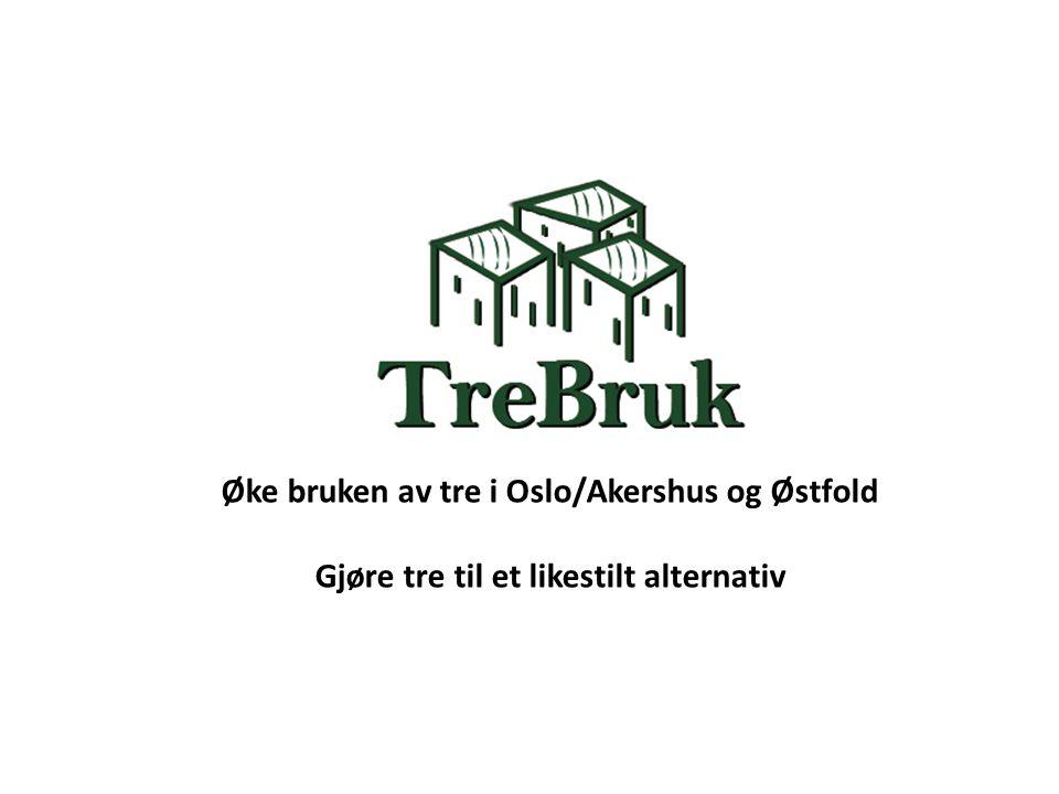 Øke bruken av tre i Oslo/Akershus og Østfold