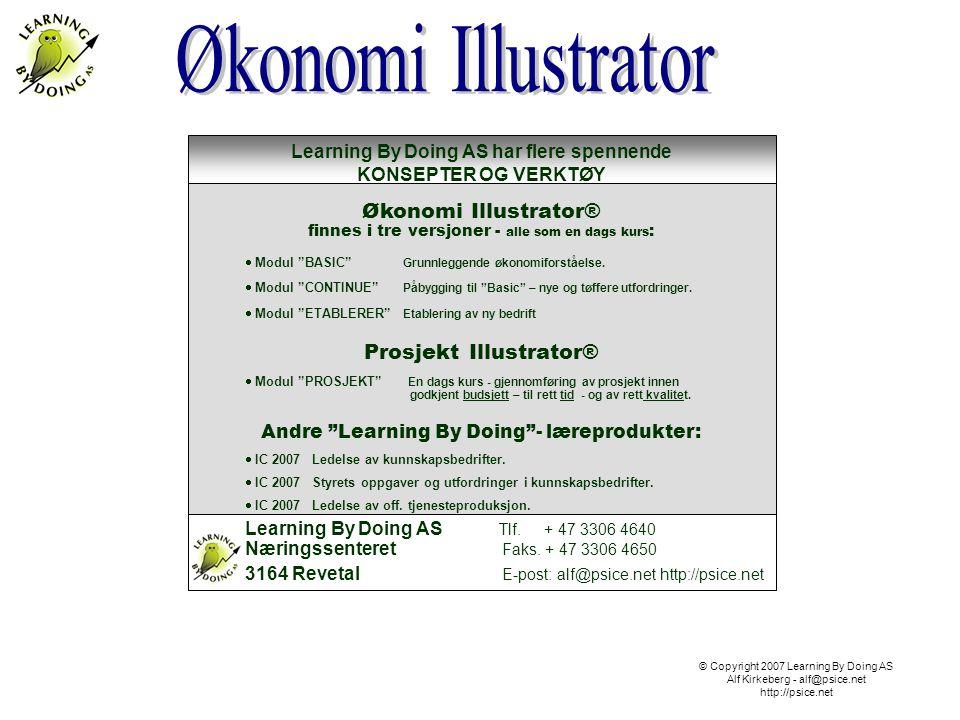 Økonomi Illustrator® Prosjekt Illustrator®