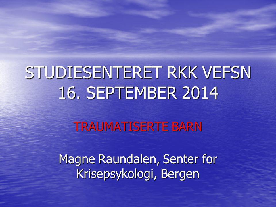 STUDIESENTERET RKK VEFSN 16. SEPTEMBER 2014