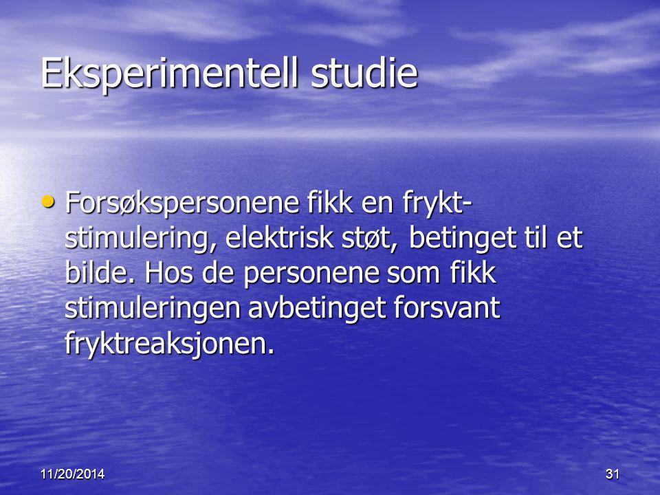 Eksperimentell studie