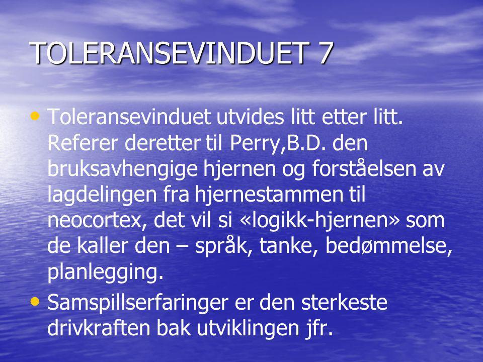 TOLERANSEVINDUET 7