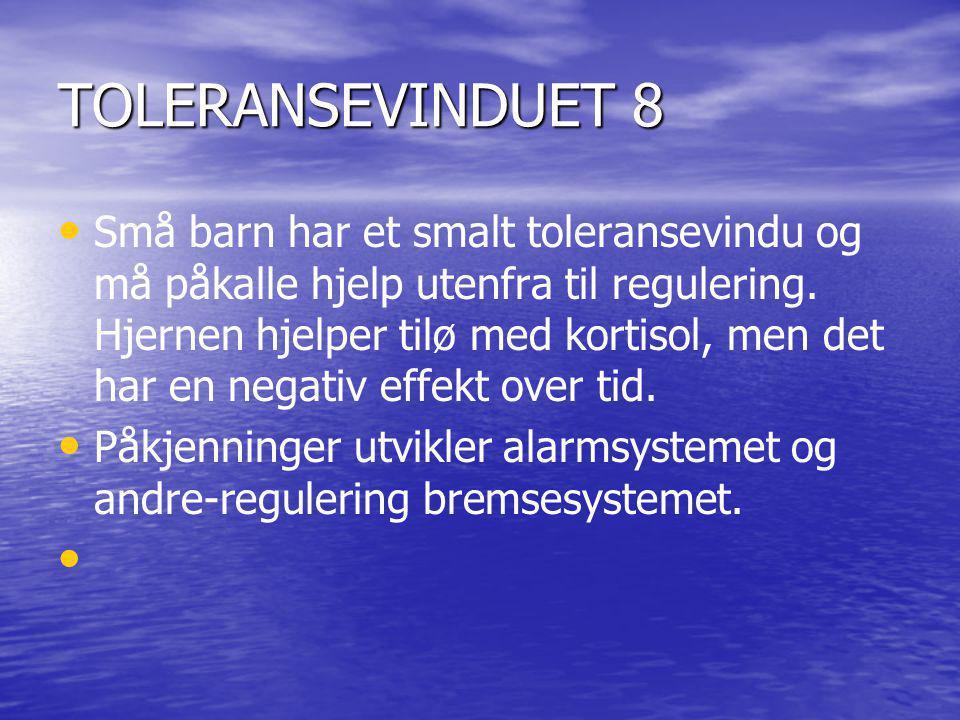 TOLERANSEVINDUET 8