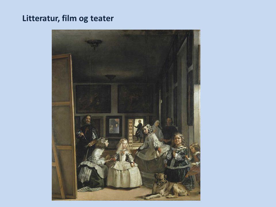 Litteratur, film og teater