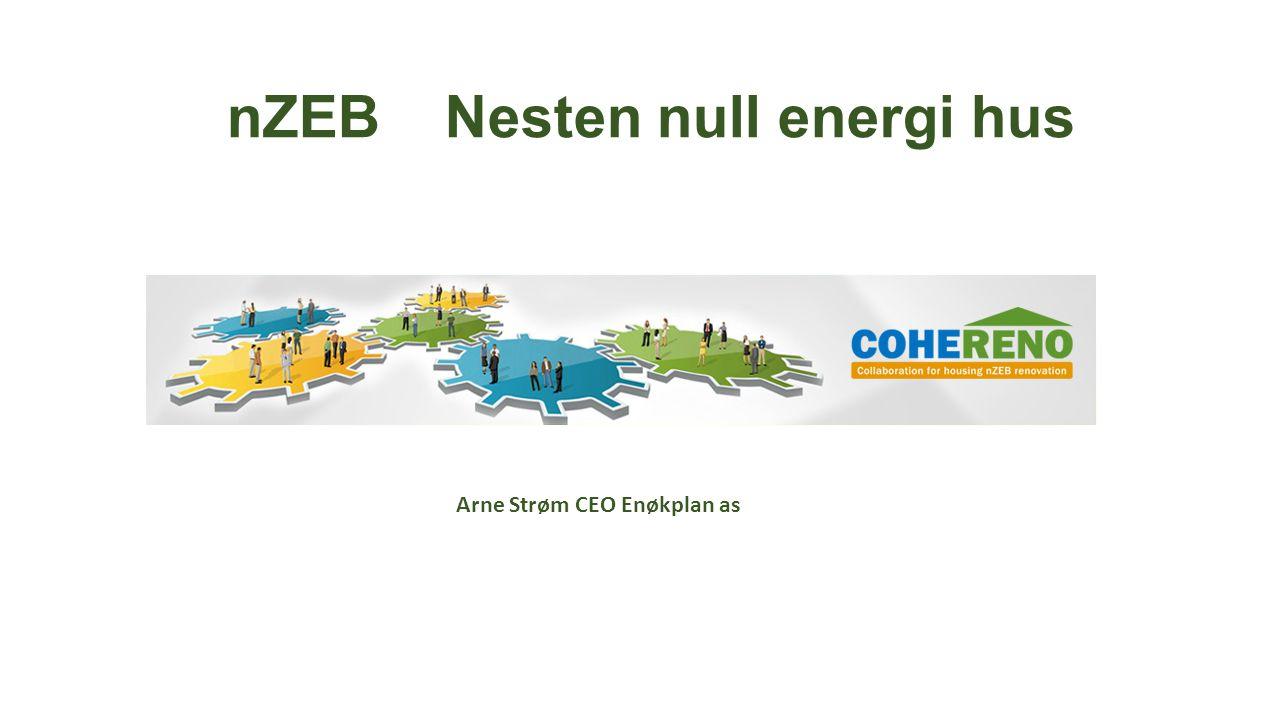 nZEB Nesten null energi hus