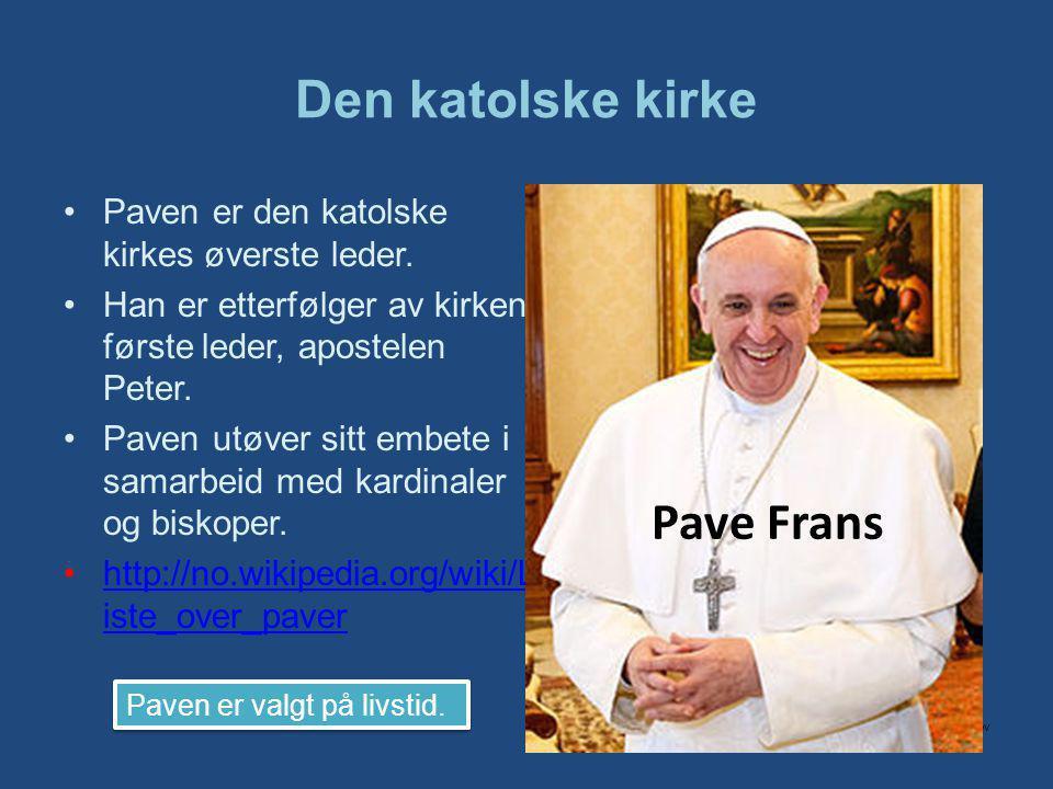 Den katolske kirke Pave Frans