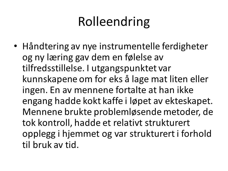 Rolleendring