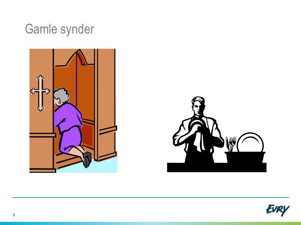 Gamle synder Gamle synder dukker nå opp. Det holder ikke å be, noen må ta oppvasken. Sakene er ikke avsluttet.