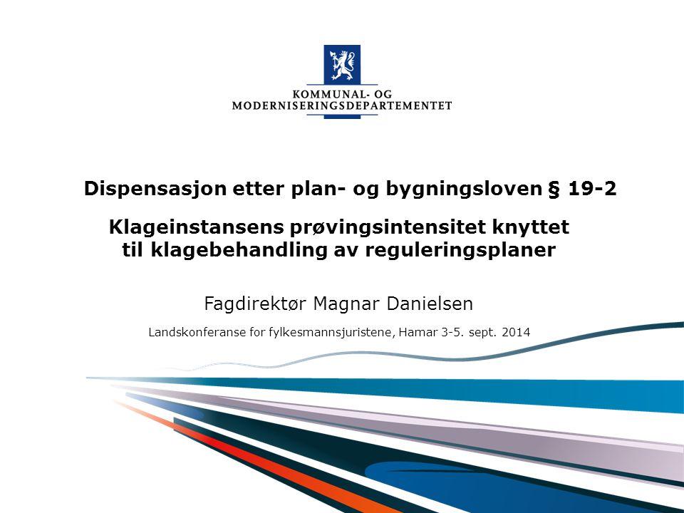 Fagdirektør Magnar Danielsen