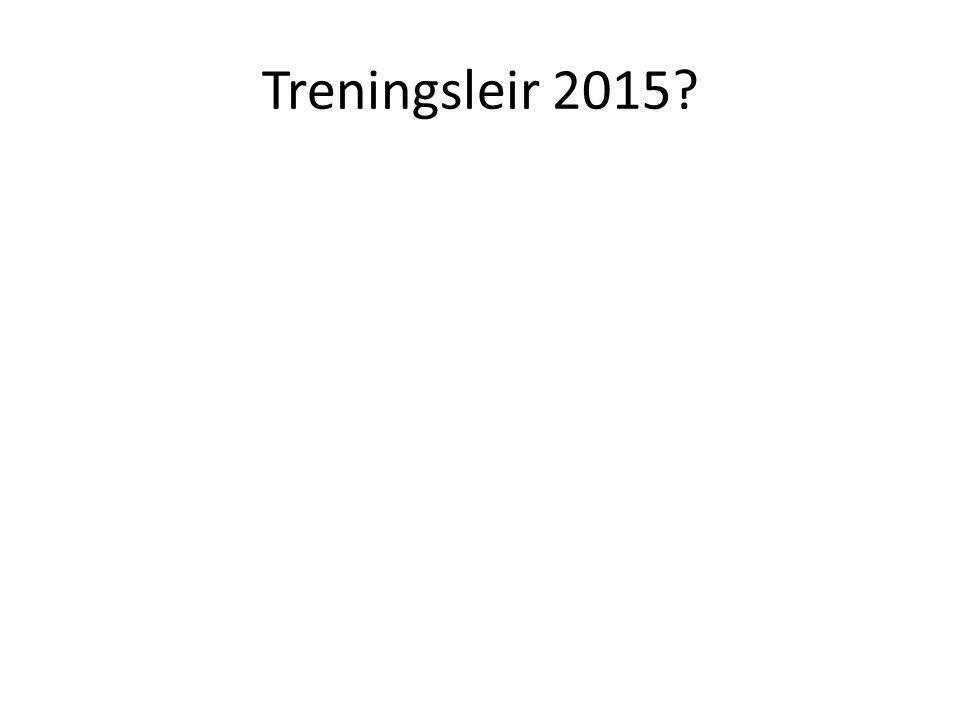 Treningsleir 2015