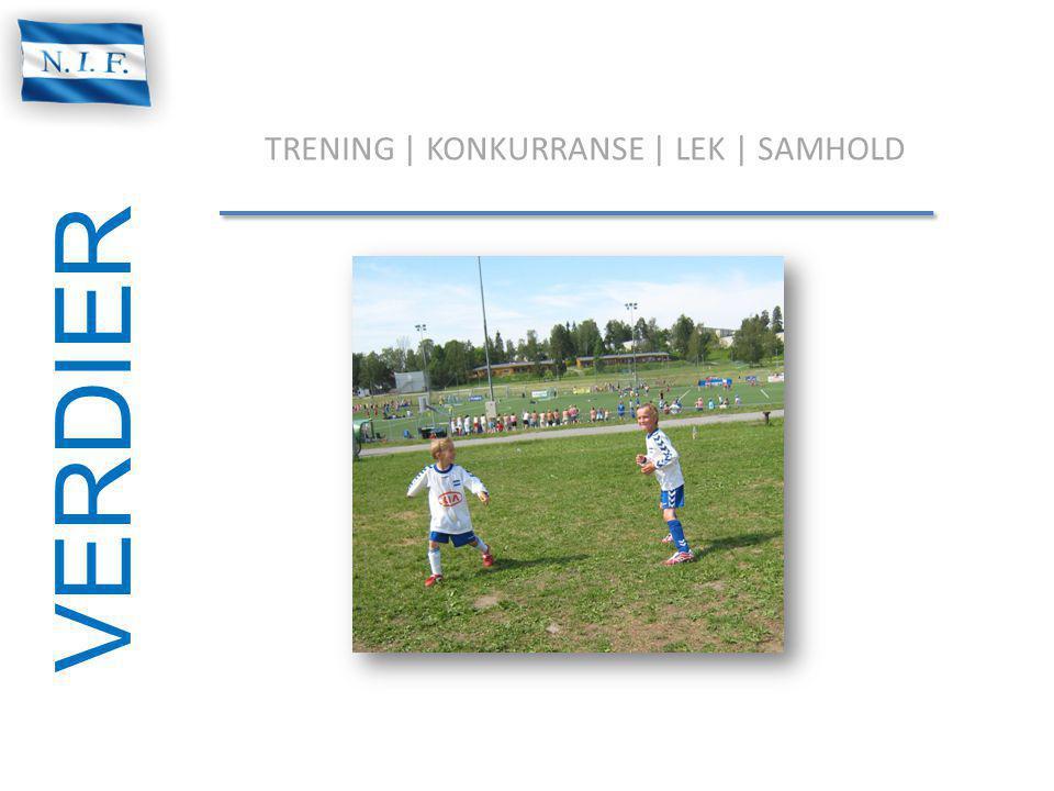 TRENING | KONKURRANSE | LEK | SAMHOLD