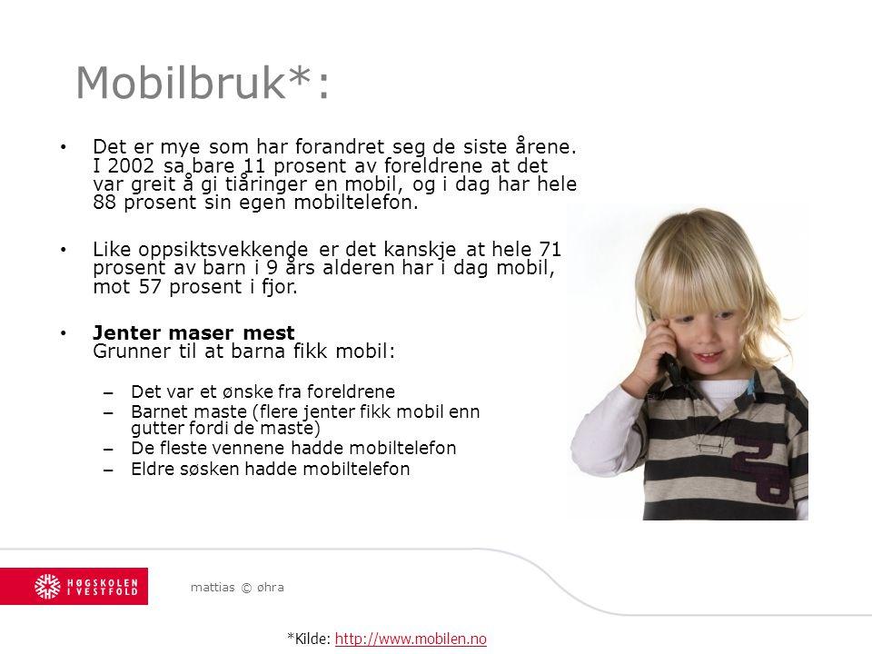 Mobilbruk*: