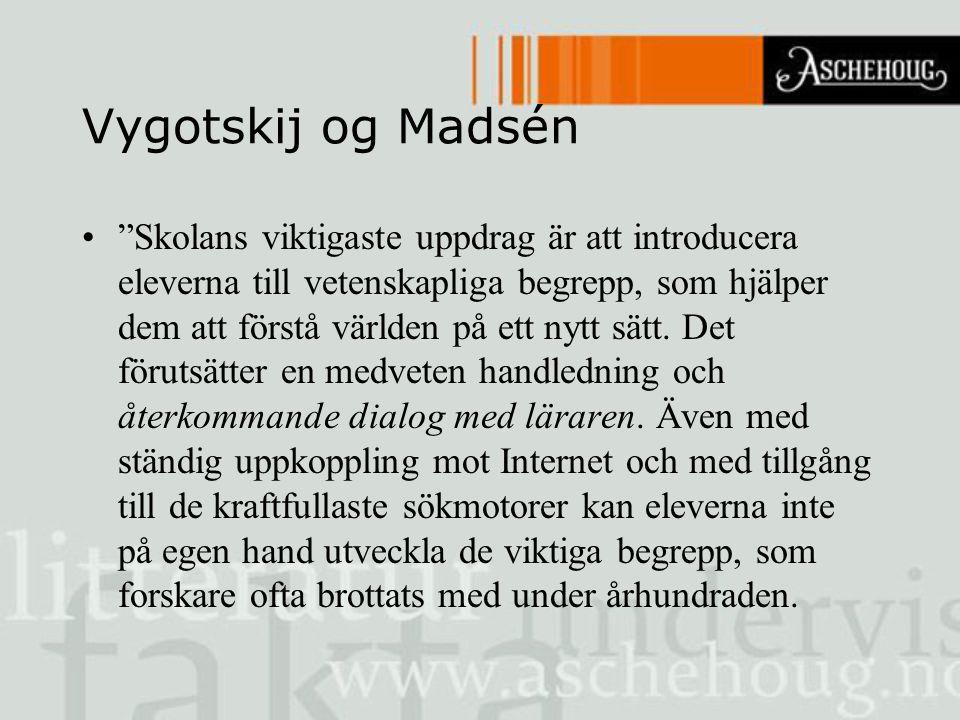 Vygotskij og Madsén