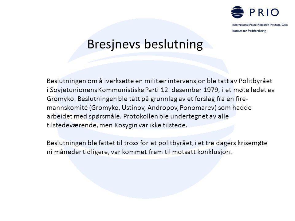 Bresjnevs beslutning