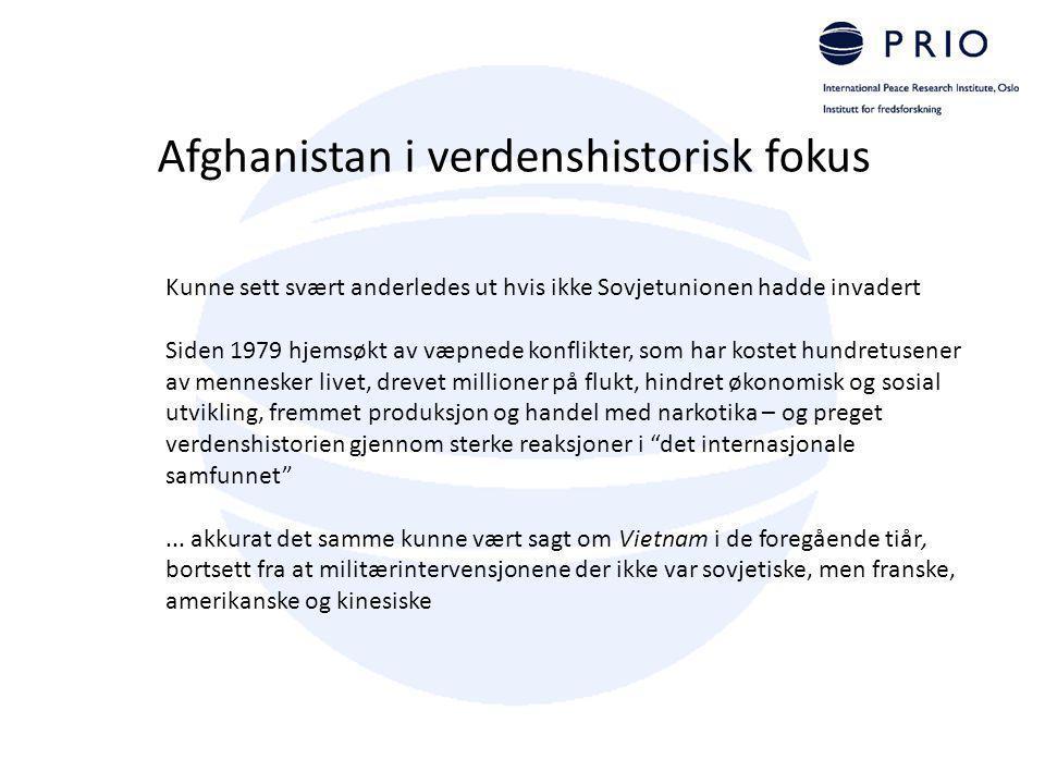 Afghanistan i verdenshistorisk fokus