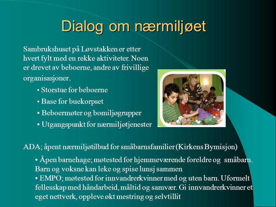Dialog om nærmiljøet