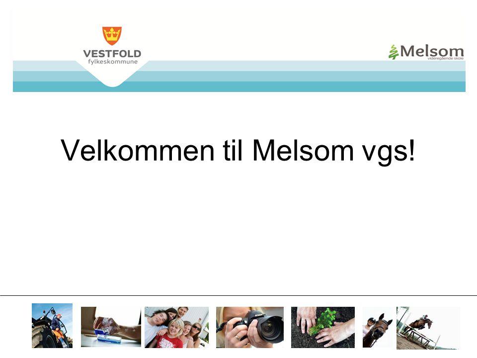 Velkommen til Melsom vgs!