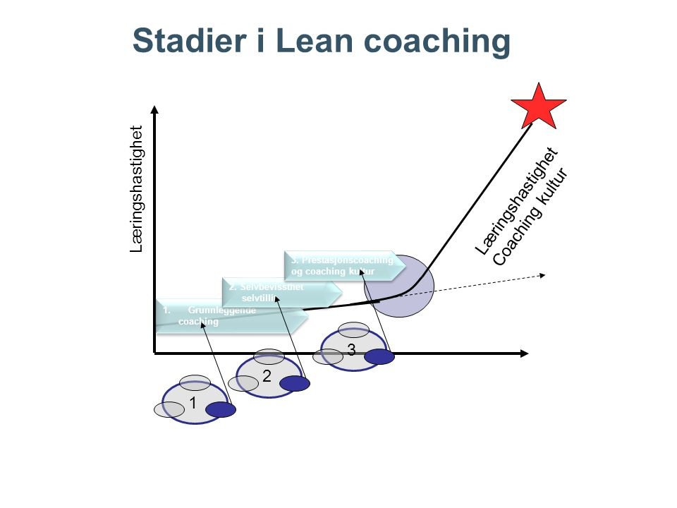 Stadier i Lean coaching