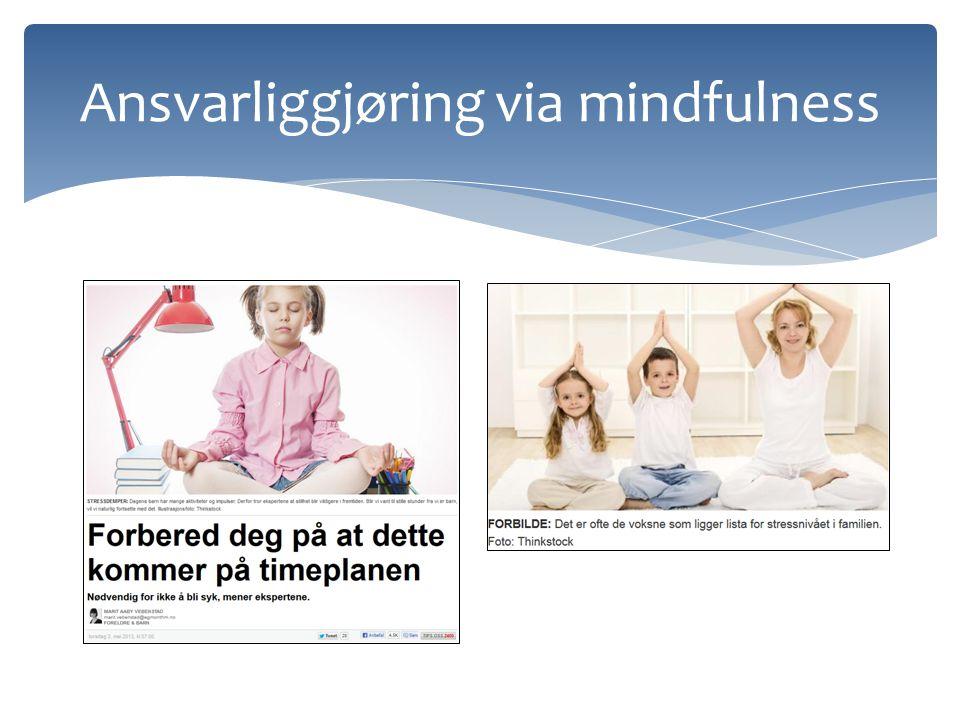 Ansvarliggjøring via mindfulness