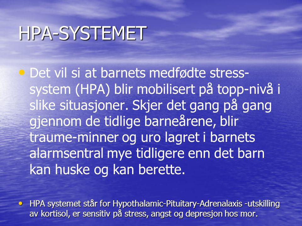 HPA-SYSTEMET