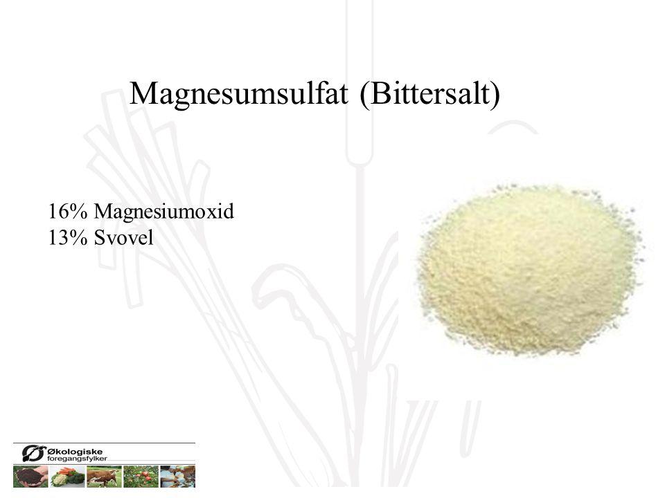 Magnesumsulfat (Bittersalt)